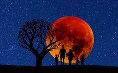 'Siêu trăng máu' xuất hiện chào năm mới