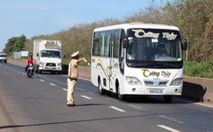 Tổng kiểm soát cả nước xe tải, xe khách 8 chỗ trở lên