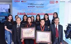 Grande Hybrid khẳng định vị trí dẫn đầu với 2 kỷ lục Việt Nam