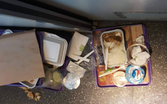 Đường sắt ngưng phát suất ăn miễn phí trong dịp tết