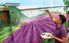 Phố chuyên doanh hoa và ẩm thực Hồ Thị Kỷ hiện dần lên rực rỡ