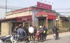 8 người bị thương trong vụ cướp ngân hàng tại Thái Bình