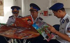 Quà xuân Tuổi Trẻ đến với hải quân