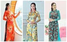 Du xuân cùng áo dài từ lụa Vanya - Ấn Độ