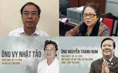 Bắt ông Nguyễn Thành Rum, nguyên giám đốc Sở VH-TT&DL và ông Vy Nhật Tảo