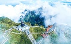 """Du xuân ngày đầu năm: Bái Phật tại """"thành phố trong mây"""""""