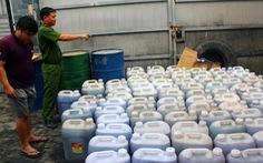Tịch thu hơn 14.000 lít dầu mỡ động vật không rõ nguồn gốc