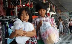 Niềm vui ngày tết của 'những đứa trẻ du mục' Phú Quốc