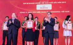 Prudential là doanh nghiệp bảo hiểm nhân thọ hàng đầu Việt Nam