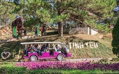 Lâm Đồng đưa xe điện phục vụ tham quan du lịch ở Đà Lạt