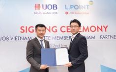 Ngân hàng UOB ra mắt thẻ đồng thương hiệu với L.POINT