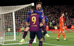 Đè bẹp Sevilla 6-1, Barcelona ngược dòng vào bán kết Cúp nhà vua