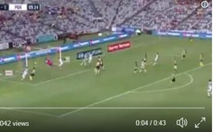 Đánh đầu xé lưới, sập khung thành ở Giải vô địch Úc