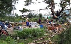 171 căn nhà ở Bạc Liêu bị sập và tốc mái do lốc xoáy