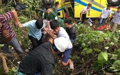 Xe gặp nạn ở đèo Hải Vân chở sinh viên Trường cao đẳng Kiên Giang