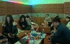 Phát hiện 21 thanh niên thuê nhà nghỉ sử dụng ma túy
