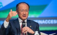 Chủ tịch Ngân hàng Thế giới bất ngờ từ chức sớm 3 năm