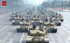 115.000 người tham gia duyệt binh kỷ niệm 70 năm quốc khánh Trung Quốc