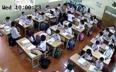 Camera giúp thầy cô kìm cơn nóng giận, tại sao không?