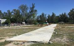 Đất hoang cạnh nghĩa địa được vẽ thành 'dự án gần biển, gần sông'