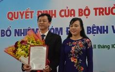 Bác sĩ 46 tuổi Nguyễn Tri Thức làm giám đốc Bệnh viện Chợ Rẫy