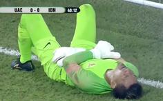 Thủ môn mắc sai lầm hai lần bắt hụt bóng khiến Indonesia nhận 'cái kết đắng'