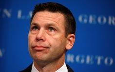 Quyền bộ trưởng an ninh nội địa Mỹ Kevin McAleenan từ chức
