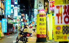 Thị trường giao thức ăn thứ 4 thế giới, tài xế Hàn Quốc đánh cược với tử thần