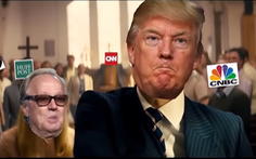 Ông Trump bỗng gặp rắc rối vì clip chế