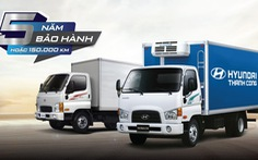 Xe thương mại Hyundai mở rộng hệ thống, nâng bảo hành lên 5 năm