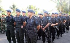 Hàng trăm cảnh sát và quân đội bảo vệ trận Indonesia - Việt Nam