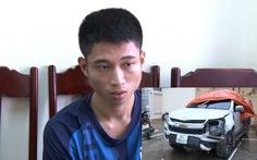 Tạm giữ nghi phạm lái xe ô tô đâm thẳng vào xe máy làm 2 người thương vong