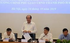 Thủ tướng: Hà Nội cần phản ứng sớm với các sự cố như vụ nước sạch sông Đà