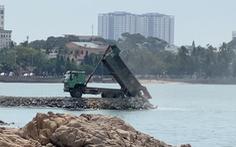 Video: Tạm dừng thi công dự án lấp biển làm thủy cung ở Vũng Tàu