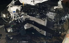 Xe hơi va chạm xe máy, 3 người cùng gia đình tử vong