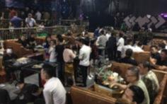 Hàng trăm người 'phê' ma túy tại bar Play House Club lúc rạng sáng ở quận 10
