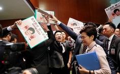 Trung Quốc phẫn nộ với dự luật của Mỹ về Hong Kong