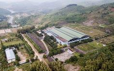 Hòa Bình họp báo vụ nước sạch cho Hà Nội bị nhiễm dầu thải