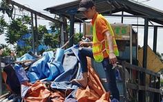 Lập chốt an ninh, chống móc túi tại trạm xe buýt trước KDL Suối Tiên