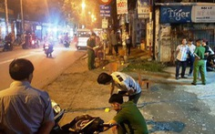 Nghi can đâm chết người sau va chạm xe máy ở quận Bình Tân ra đầu thú