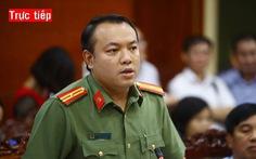 Trực tiếp: Họp báo vụ ô nhiễm nguồn nước sạch cung cấp cho Hà Nội