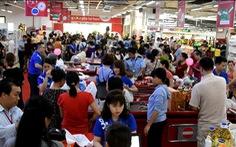 Co.opmart tại Hà Nội khuyến mãi lớn thu hút hàng trăm ngàn lượt khách