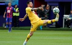 Messi đá vừa hay vừa đẹp, giúp Barca tạm vươn lên dẫn đầu La Liga