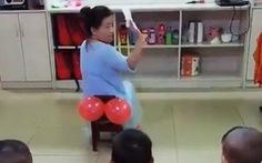 Cô giáo mầm non dạy kỹ năng cho trò, hơn 4 triệu lượt xem trên mạng
