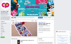 Co.opmart không bán hàng trên Facebook