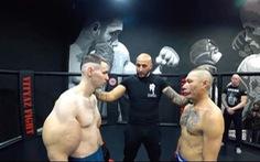 Video võ sĩ MMA bắp tay 'khổng lồ' bị blogger đánh bầm giập