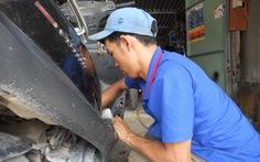 Cai nghiện ma túy, mở cửa hàng sửa xe từ quỹ hỗ trợ khởi nghiệp