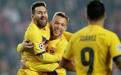Messi tỏa sáng, Barcelona khuất phục Slavia Prague tại Champions League