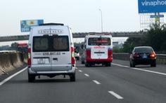 Lượng xe máy chạy vào đường cao tốc TP.HCM - Trung Lương tăng vọt
