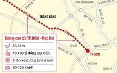 TP.HCM, Tây Ninh lên kế hoạch phối hợp triển khai tuyến cao tốc TP.HCM - Mộc Bài